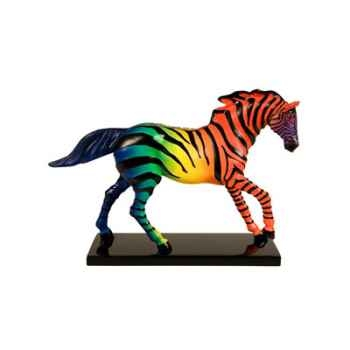 Figurine Cheval Painted Ponies Zorse Hiding in Plain -PO12291