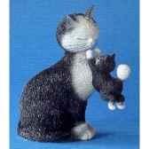 figurine chat dubout les jours heureux dub33