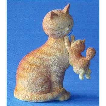 Figurine chat Dubout Les jours heureux -DUB35