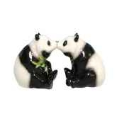 figurine pandas seet poivre mw93455