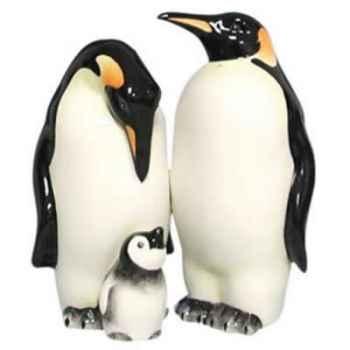 Figurine pingouins Sel et Poivre -MW93456