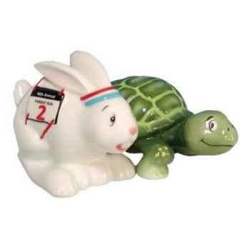 Figurine lapin et tortue Sel et Poivre -MW93447