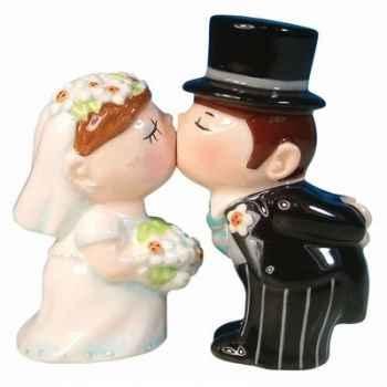 Figurine mariés Sel et Poivre -MW93413