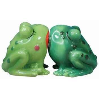 Figurine grenouilles Sel et Poivre -MW93405