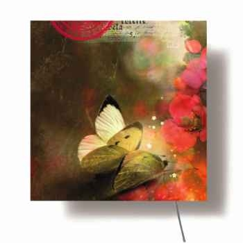 Tableau mural lumineux Ibride Phalene -lumi-001