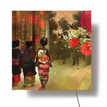 Tableau mural lumineux Ibride Kyoto -lumi-002