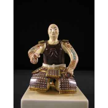 Figurine Samourai peinte Gilles Carda Samouraï Thé Armure -54C