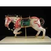 figurine samourai peinte gilles carda chevaarnache 59c