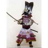 figurine samourai peinte gilles carda ichi no tani katana falaise 114c
