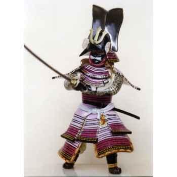 Figurine Samourai peinte Gilles Carda Ichi No Tani Katana Falaise -114C