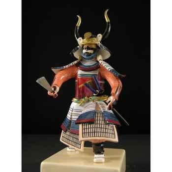 Figurine Samourai peinte Gilles Carda Gunsen -118C