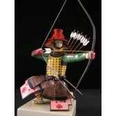 figurine samourai peinte gilles carda arc au bo157c