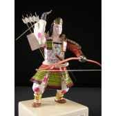 figurine samourai peinte gilles carda tomoe gozen 161c