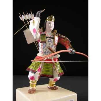 Figurine Samourai peinte Gilles Carda Tomoe Gozen -161C