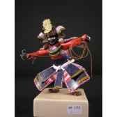 figurine samourai peinte gilles carda grapin 175c