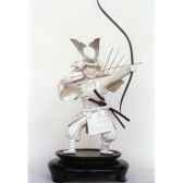 figurine samourai gilles carda katana tigres rouges 100ce