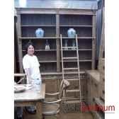 bibliotheque 4 portes style chine c2317nat