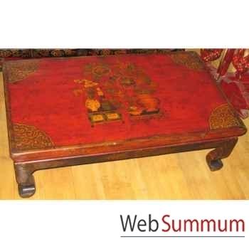 Table basse petit modèle tibet style Chine -C0321