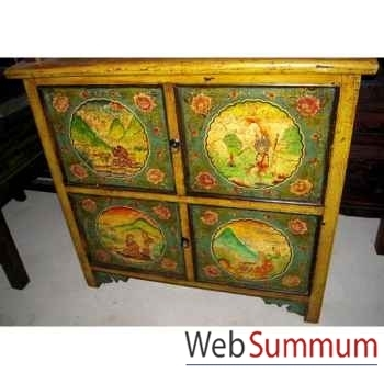 Buffet 4 portes et tibetain style Chine -C3010