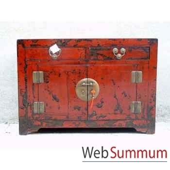 Buffet grand modèle 2 portes et 2 tiroirs style Chine -CHN035