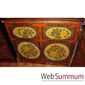 Buffet 2 portes et 2 tiroirs tibetain style Chine -C0376
