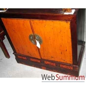 Armoirette 2 portes style Chine -CHN072