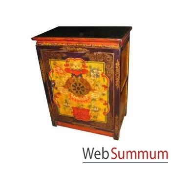 Armoirette 1 porte tibet style Chine -C0333