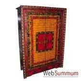 armoire 2 portes tibetain style chine c0383
