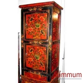 Armoirette 2 portes tibetain style Chine -C0394
