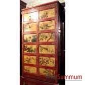 armoire 10 tiroirs tibetain style chine c0613