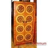armoire 2 portes tibetain style chine c0893