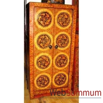 Armoire 2 portes tibetain style Chine -C0893