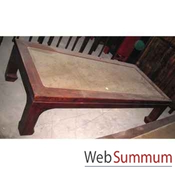 Grand lit opium style Chine -CHN064
