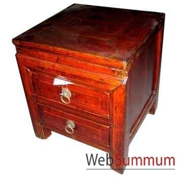 Chevet petit vieux style Chine -CHN204