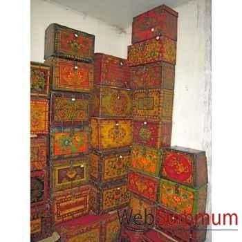 Boite tibetaine style Chine -C0656
