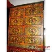 chiffonnier 8 tiroirs tibetain style chine c0872