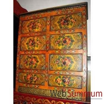 Chiffonnier 8 tiroirs tibetain style Chine -C0872