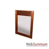 miroir sans porte strie meuble d indonesie 53972