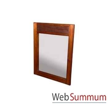 Miroir sans porte strié Meuble d'Indonésie -53972