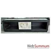 buffet tv 1 tiroir fabrique en indonesie meuble d indonesie 57009