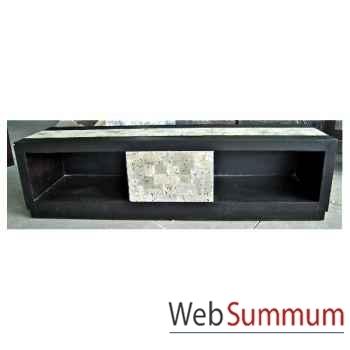 Buffet TV 1 tiroir fabriqué en Indonésie Meuble d'Indonésie -57009