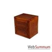 cube 1 porte strie meuble d indonesie 53959