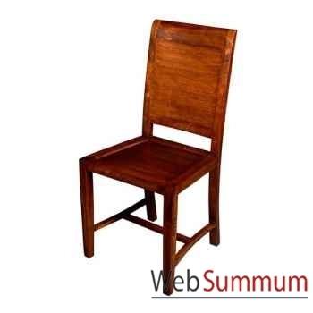 Chaise strié Meuble d'Indonésie -53971