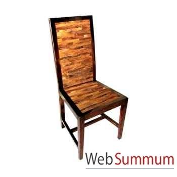 Chaise fabriqué en Indonésie Meuble d'Indonésie -54339