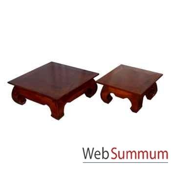 Table mini opium pour décoration Meuble d'Indonésie -54244