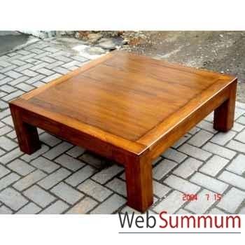 Table basse millenium 2 tiroirs Meuble d'Indonésie -54272