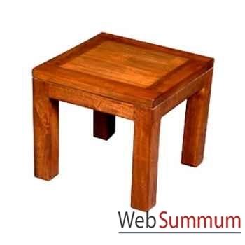 Table basse en bois cire Meuble d'Indonésie -56784CI