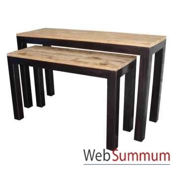 Console en bois fabriqué en Indonésie Meuble d'Indonésie -54254