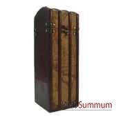 porte bouteille bois et pvc pour une bouteille artisanat chine c47661