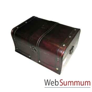 Set de 2 coffret valise en bois. artisanat Chine -c66104